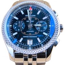 Breitling Bentley Mark VI P26362 Blue Chronograph SS