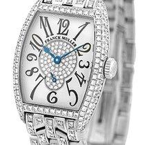 """Franck Muller Lady's 18K White Gold  Pave Diamond """"Cin..."""