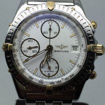 Breitling CHRONOMAT STEEL GOLD 40MM CHRONOGRAPH WHITE DIAL