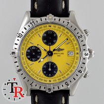 Breitling Chronomat Longitude Chronograph, Box+Papers