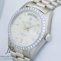 Rolex Day Date 18308 org. Diamantbesatz Box  & Papiere