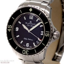 Blancpain Fifty Fathoms Aqua Lung Ref-5015C-1130 Stainless...