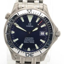 Omega Seamaster 300m Titanium Blue Dial With Date Ref. 2231.80.00