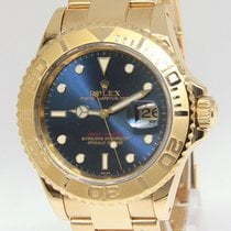 롤렉스 (Rolex) Yacht-Master 18k Yellow Gold Blue Dial Automatic...