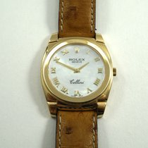 Rolex Cellini 5330 mother of pearl dial 18k w/box c.2001