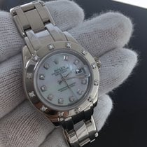 Rolex Datejust Pearlmaster Ref 80319 18k White-gold - Mother...