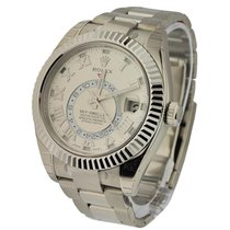 Rolex Unworn 326939 Sky Dweller Oyster 42mm in White Gold with...