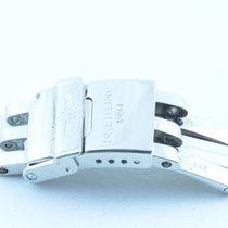 Breitling Faltschliesse 18mm Für Pilotband Stahl Band 20/22mm...