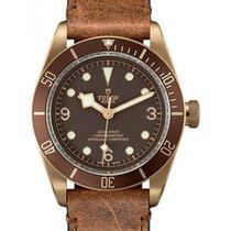 Tudor Heritage Black Bay Bronze 79250BM Brown Arabic &...