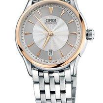 Oris Artelier Date Gold/Steel Case Steel Bracelet