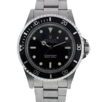 Rolex Submariner 5513 non Date Black Dial Mens Watch