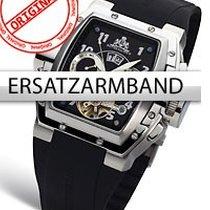 Rothenschild Ersatzband PU RS-0812 schwarz mit silberner...