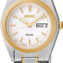 Seiko Solar SUT108P1 Damenarmbanduhr Klassisch schlicht