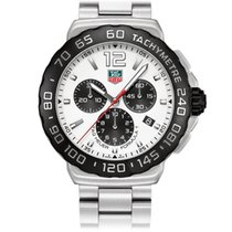 TAG Heuer Formula 1 Chronograph White Dial