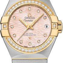 Omega 12325272057005 Constellation Gold and Diamonds Ladies