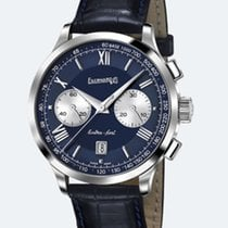 Eberhard & Co. Extra-Fort Chrono Bicompax Grande Taille Blu