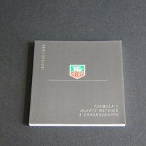 TAG Heuer Instructions Formula 1 Quartz Watches & Chronogr...