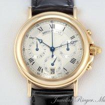 Breguet HORLOGER DEL LA MARINE 3460 GELBGOLD 750 CHRONOGRAPH...