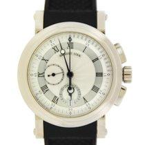 Breguet Marine Chronograph 18K White Gold