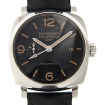 Panerai New  Radiomir Stainless Steel Black Automatic PAM00627