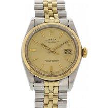 Rolex Men's Rolex Datejust 1600 18k Yellow Gold & SS