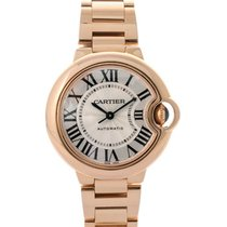 Cartier Ballon Bleu 33mm In Oro Rosa 18kt Ref. W6920096