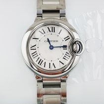 Cartier Ballon Bleu 28 mm Quartz No Date Ladies watch W69010Z4