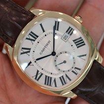 """Cartier """"drive De Cartier"""" 18k Rose Gold Wgnm0003"""
