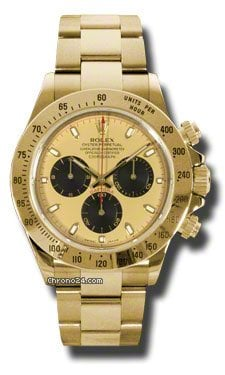 Rolex DAYTONA &amp;#34;PAUL NEWMAN&amp;#34; YELLOW GOLD ON BRACELET