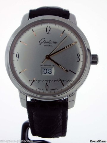 Glashtte Original Senator Sixties Panorama Date Watch