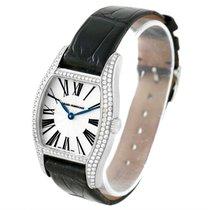 Girard Perregaux Tortue Stainless Steel Diamond Ladies Watch 2656