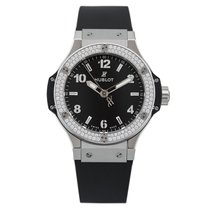 Hublot Big Bang 38mm Quartz Steel Diamonds