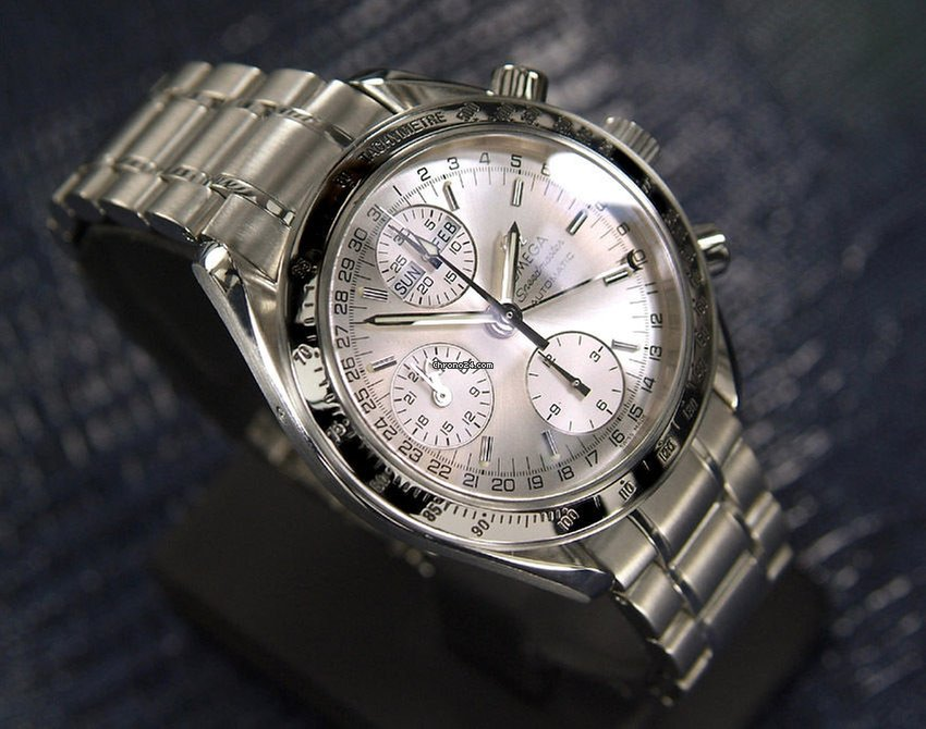 Omega Speedmaster Triple Date Chronograph Date Omega Speedmaster