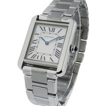 Cartier W5200013 Tank Solo - Small Size - Steel on Bracelet