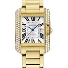 Cartier Tank Anglaise Medium Diamond Bezel