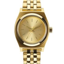 Nixon A399-502 Small Time Teller All Gold 26mm 10ATM