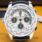 Girard Perregaux World Time WW.TC Chronograph SS / Silver Dial