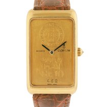 Corum 999.9 Pure Gold 10g Ingot Bar Wrist Watch