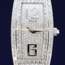 Piaget Limelight Tonneau Quartz 18K White Gold & Diamond...