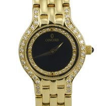 Concord Le Palais Ladies 14k Yellow Gold and Diamond Wristwatch