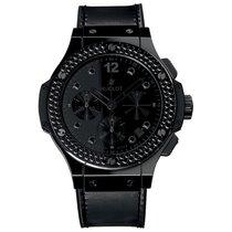 Hublot Big Bang All Black 41mm Automatic Ceramic Mens Watch...