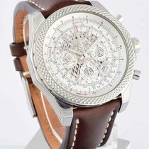 Breitling for Bentley B06 - Silver Storm on Brown Strap...