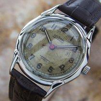 Very Rare Delbana Men's 1940s Military Style Dress Watch...