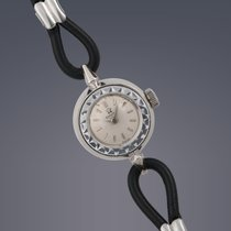 Omega Ladies Cocktail 14ct white gold manual watch