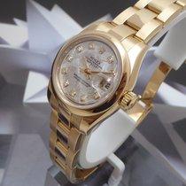 Rolex Datejust 18K Rose Gold Meteroite Diamond Dial Box&Pa...