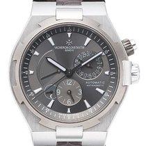 Vacheron Constantin 47450/000w-9511 Overseas Dual Time Grey Watch