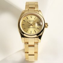 Rolex Lady DateJust 179168 18K Yellow Gold