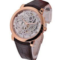 Harry Winston 450/MAS42RL.W Midnight Skeleton in Rose Gold -...