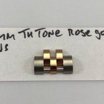 Rolex 17mm Two Tone 18kt Everose Gold/SS Men's Jubilee
