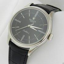 Rolex Cellini 50509 White Gold Black Dial NEW MODEL 50509...